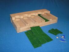 5 gun - Wood Closet Gun Rack with Floor Base - Solid Oak
