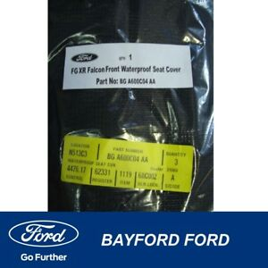SEAT COVER FRONT WATER PROOF FORD FG XR6 XR8 MODELS ONLY FALCON