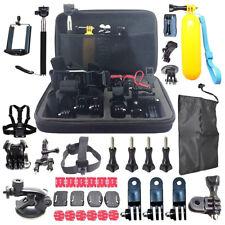 60 Pcs Accessories Set For GoPro Hero 2 3 3+ 4 5 SJCAM HeadChest Strap Pole UKDC