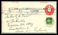 GP GOLDPATH: NEW ZEALAND POSTAL STATIONARY 1916 _CV746_P21