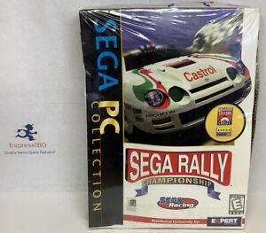 (FG) SEGA Rally Championship ~ Windows 95 RARE! BRAND NEW! FACTORY SEALED W/Box