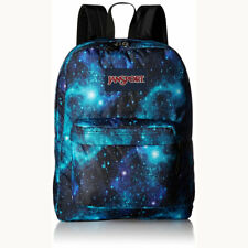 JANSPORT Superbreak Backpack Galaxy Travel School Boys Girls Book Bag Black NEW