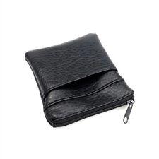 Practical Pu Leather Coin Purse Men Women Card Holder Mini Short Wallet Bags-