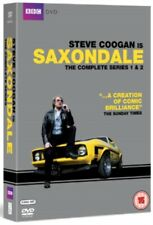 NEW Saxondale Series 1 to 2 The Complete Collection DVD