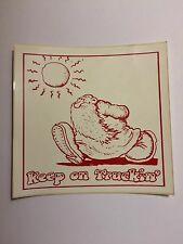 Vintage/ New Robert Crumb Sticker Keep on Truckin Made In USA