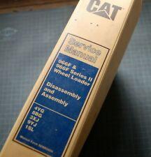 Cat Caterpillar 966f Wheel Loader Repair Shop Service Manual Overhaul Front End