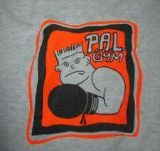 Vintage BEST Fruit of the Loom Label - P.A.L. GYM (LG) T-Shirt MIKE TYSON