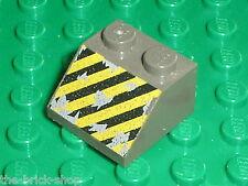 LEGO UNDERGROUND OldDkGray slope brick ref 3039px16 / Set 4980 4970 4940 4990...