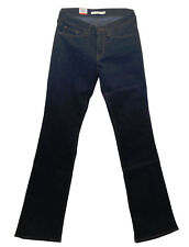Levis 715 Damen Jeans Boot Cut Schlaghose dunkel Stretch Damen 18885-0000