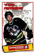 2002-03 Prince Albert Raiders #9 Luke Fritshaw