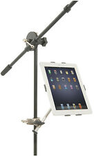IPAD 2 3 4 mount holder clamps ONTO étagère bureau microphone stand 180.179