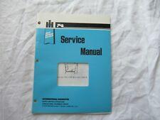 International Harvester Kohler engine service manual cub cadet 682 582 982 782