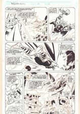 Thor Annual #17 p.10 - Thor Traveling Through Time - 1992 art by Geof Isherwood