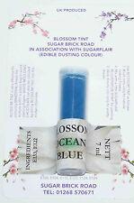 Sugarflair Ocean Blue Blossom Tint Powder, 7ml, Edible Food Colour Dust