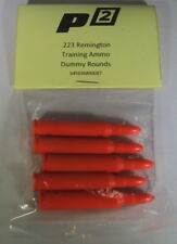 P2 .223 Rem Snap Caps Training Ammo Bullets Shells Practice -5 Pak -Usa Seller
