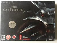 Jeu PC The Witcher 1 Edition Collector (neuf sous blister) FR TRES RARE