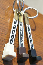 1950's Hammond Organ Drawbar Keychain B C A M Leslie 122 147