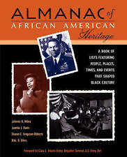NEW Almanac African American Heritage: Chronicle by Johnnie H. Miles