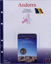 PAGINA AGGIORNAMENTO MASTERPHIL PER 2 EURO COMMEMORATIVO ANDORRA - TUTTE LE DATE