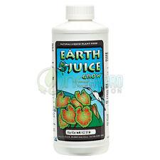 Earth Juice Grow Liquid Plant Food Vegetative Growth 1 QT Quart / 32 fl oz