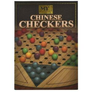 NEW TRADITIONAL RETRO CHINESE CHECKERS FAMILY FUN BOARD GAME PRESENTATION BOX