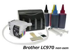 Encre Continue Brother LC970 LC1000 - CISS Deluxe non-oem VIDE