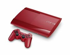 Playstation 3 Super Slim 500 GB Farbe: rot - PS3