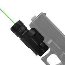 Compact Tactical Green Laser Sight w/ Quick Release Picatinny Mount for Pistol