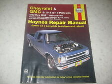 Car truck service repair manuals for gmc for sale ebay haynes manual chevrolet gmc s 10 s 15 pickups 1982 fandeluxe Gallery