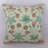 """William Morris Daisy Cushion Covers 16""""x16"""" &16""""x12"""" Self Piped Great Quality"""