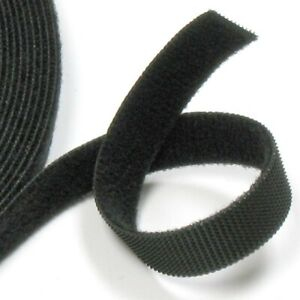 VELCRO® ONE-WRAP® - Double Sided - Reusable - Black - 1mt X 12.5mm