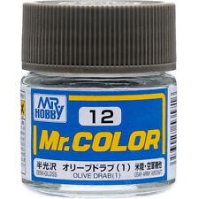 Gunze Sangyo MR HOBBY Mr Color Olive Drab (1) C12