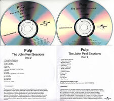 PULP The John Peel Sessions UK 29-trk numbered/watermarked promo test 2-CD