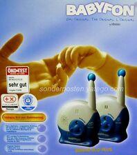 VIVANCO BM440 Eco Plus BABY Baby fon phone Überwachung 75M 2 Kanäle Blau Weis 71