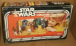 1977 STAR WARS CREATURE CANTINA Playset Kenner Excellent W/box