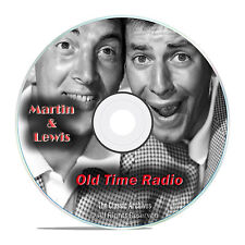 Dean Martin and Jerry Lewis, 587 Old Time Radio Comedy, Music Shows, OTR DVD G47