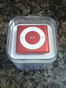 Pink Apple iPod Shuffle 4th Gen, 2GB, MKM72TH/A (Worldwide Shipping)