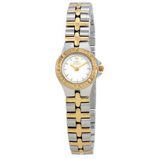 Invicta Wildflower White Dial Two-tone Ladies Watch 0136