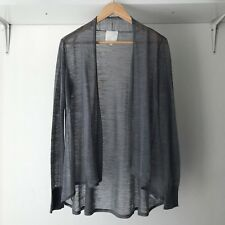 In Wear Oasis Swing Long Sleeves Grey Blazer / Cardigan, Size Small