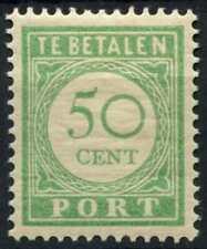 Curacao 1915-39 SG#D105, 50c Green Postage Due MH P12.5 #E13785