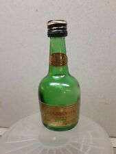 Vintage Courvoisier VSOP Cognac empty mini bottle 2 oz