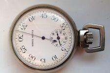 VINTAGE ELGIN 50mm WW11 BOMBA TIMER STOP WATCH per ricambi o riparazione (non funzionante)