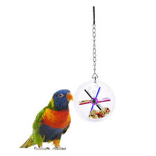 Parrot Bird Cage Feeder Hanging Foraging Toys Pet Hunt Macaw Cockatoo Budgie