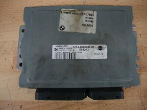 2005 BMW MINI ONE R50 1.6 ENGINE MANAGEMENT ECU 7545802