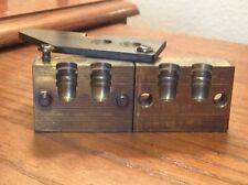 Noe 432-265-Swc 2 Cavity Brass Bullet Mold