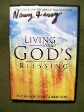 LIVING UNDER GOD'S BLESSING PAT ROBERTSON GORDON ROBERTSON 2014 DVD
