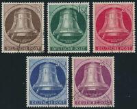 BERLIN 1951, MiNr. 75-79, gestempelt, II. Wahl, Mi. 200,-