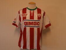 NECAXA MEXICAN FOOTBALL RED & WHITE REPLICA SOCCER JERSEY ALEXIS SPORT MEN L/XL