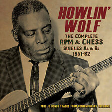 HOWLIN WOLF New Sealed 2017 COMPLETE SINGLES 1951-62 3 CD BOXSET