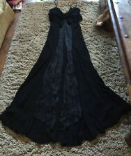 e3dd242f054ad Ghost Dress Floor Length Black Cruise Prom Sz.M